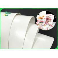 China Double Sides White 300GSM 350GSM PE Coated Paper Board For Fast Food Boxes on sale