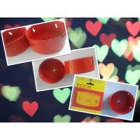 Red Color 95mm M42 Bimetal Hole Saw 32mm Cutting Depth Manufactures