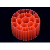 Industrial Water Treatment Red Biocell Filter Media , K3 Micro Media Manufactures