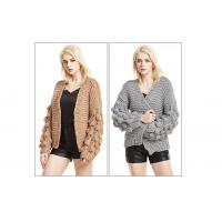 Chunky knit cardigan knitted cardigan woman knitwear Hand knit cardigan Knit Cardigan Sweater Manufactures