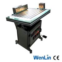 Manual Plastic Pvc Sheet Welding Machine 3 Heads Welder adjustable Working pressure Manufactures