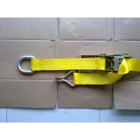 Self Tightening Ratchet Tie Down Straps With D Ring GS TUV Approved Manufactures