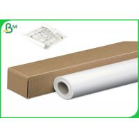 Buy cheap 24inch 36inch * 50m 80gsm Inkjet CAD Plotter Paper Roll For Engineering Drawing from wholesalers