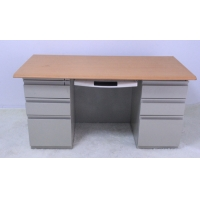Wooden Top KD 1400X700X750mm Compact Study Desks Manufactures