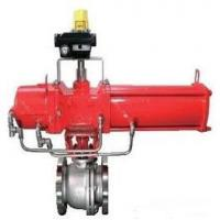 Cheap Pneumatic Control Ball Valve DN50 Made By SUS316L Connect By Flange for sale