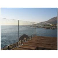 1000 x 1170 MM Laminated Railing Glass For Deck  AS2208 Standard Manufactures