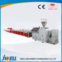 Two Step Way  Jwell WPC Extrusion Line DC Motor Drived Over Load Protection Manufactures