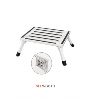 Aluminum Alloy 6063 0.48m Single Step Stool Manufactures