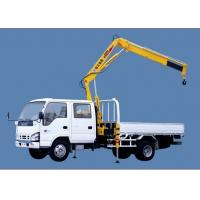 Cheap XCMG SQ1ZK2 Knuckle Boom Truck Mounted Crane , 1400kg Wire Rope Raise for Sales for sale