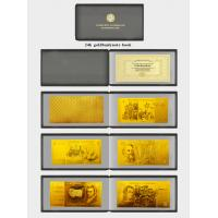 Old Australian 24K gold plated per decimal currency for collection Manufactures