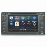 GPS Car Navigation System with In-dash DVD Player for Toyota, Supports Bluetooth Function Manufactures