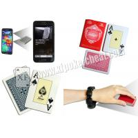 China Spain Fournieer 55 Cartes Barcode Marked Poker Cards Invisible Poker Size For Poker Scanner on sale