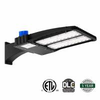 150W  Led Parking Lot Pole Lights 6000K Day Light With Photocell Slip Fitter Manufactures