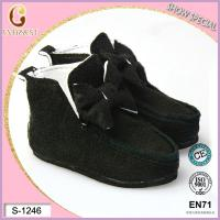 China cotton black doll shoes for sale on sale