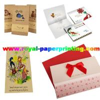 customize die cutting and colorful postcard/wedding card/thank you  card Manufactures