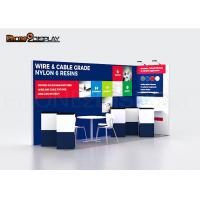 Aluminum Trade Show Portable Backlit Cosmetics Exhibition Booth Manufactures