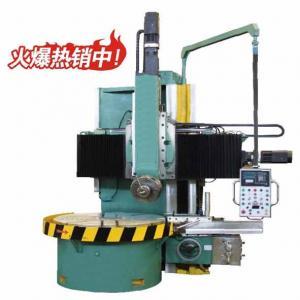 China Single Column Vertical CNC Lathe Machine Travel Rail Head 800 mm on sale