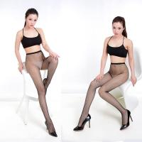 Women Knitting Patterned Fishnet Tights Suspende High Waisted Fishnet Leggings Manufactures