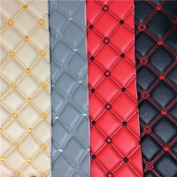 Embroidery CIG Logo Pvc Car Carpet In 140-180cm Width Manufactures