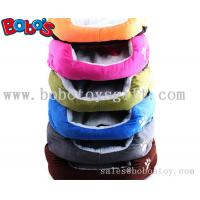 Colorful Warm Plush Material Pet Bed Puppy Dot Cat Bed With Paw Embroidery Manufactures