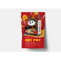 Customized Plastic Zipper Food Packing Bags / Stand Up Pouch Packaging