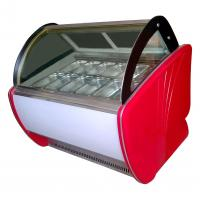 Portable Popsicles Ice Cream Display Case With Optional Trays / Ice Cream Display Unit Manufactures