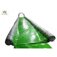 Green Single Lane 15 m Long Inflatable Water Slide For Adults Customized Size Manufactures
