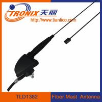 fiber mast car antenna/ 1 section mast passive car antenna TLD1382 Manufactures