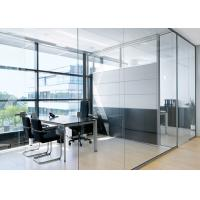 Lighting Partition Wall Glass , Glass Office Partition Systems Manufactures