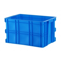Sustainable HDPE Plastic Storage Crate 610*420*260mm Manufactures