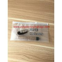 Buy cheap Zipper Locks Resealable Cigar Humidor Bags With Slider LDPE Laminated White from wholesalers