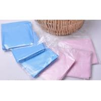 Pink Blue Anti - Fouling Oil Disposable Plastic Bibs Apron For Medical Devices Manufactures