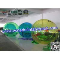 Transparent Floating Inflatable Water Ball , Walking Water Zorb Ball 2.5m Diameter Manufactures