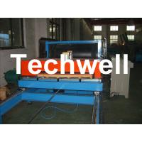 Simple Continuous PU Sandwich Panel Machine For 30 - 200mm Roof Wall Panel TW-PU1000 Manufactures