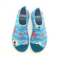 Adult Aerobics Aqua Socks Water Skin Shoes Unisex Stretchy Material 12months Warranty Manufactures