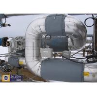 Energy Saving Flexiable Asbertos Free Pipe Insulation Jacket For Heat Equipment Manufactures