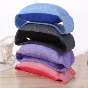 Cotton Soft Cervical Neck Collar For Spondylitis U Shaped Anti - Snore With Eye Mask Manufactures