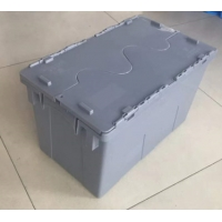 Stackable Polypropylene Plastic Logistic Box For Supermarket Chain Manufactures