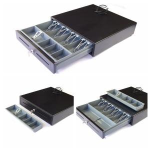 Cheap Cash Drawer Money Storage Box Plastic Cash Tray two media slots 400C for sale