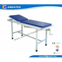 Foldable Portable Examination Couch with massage table ordinary flat bed Manufactures