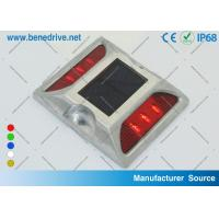China Solar Powered Road Markers Warning Lights With Anti - Impact IP68 Design for Reflectors on sale