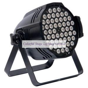54x3W LED RGBW Par Can Manufactures