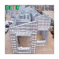 China The Cheapest Temporary Building Materials Aluminium Concrete Forms Template Sale Manufacturer/Formwork System Aluminium on sale