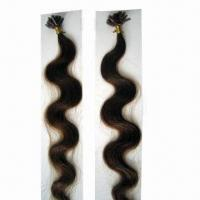 100% Human Pre-tipped Hair Extension, Easy to Apply, with 8 to 26-inch Lengths Manufactures