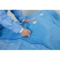 China Uroligical  TUR Fenestrated Surgical Drapes Clear PE Film Pouch Finger Cot on sale
