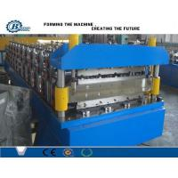 Metal  Double Layer Roll Forming Machine For Corrugated Steel Roof Sheets Manufactures