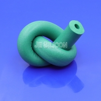 30 Psi Closed Cell Non Toxic Tasteless Silicone Foam Tube Manufactures