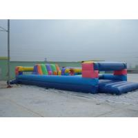 Cheap Durable Commerical grade inflatable obstacle course , PVC Inflatable Amusement Park Toy for sale