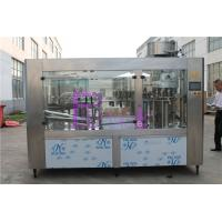 China Automatic Drinking Water Filling Machine , Stainless Steel Bottled Water Production Line on sale