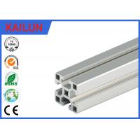 Aluminum T - Slotted Framing System 40 X 40 Mm , 2 Mm Wall Thick Aluminium Extrusion Accessories Manufactures